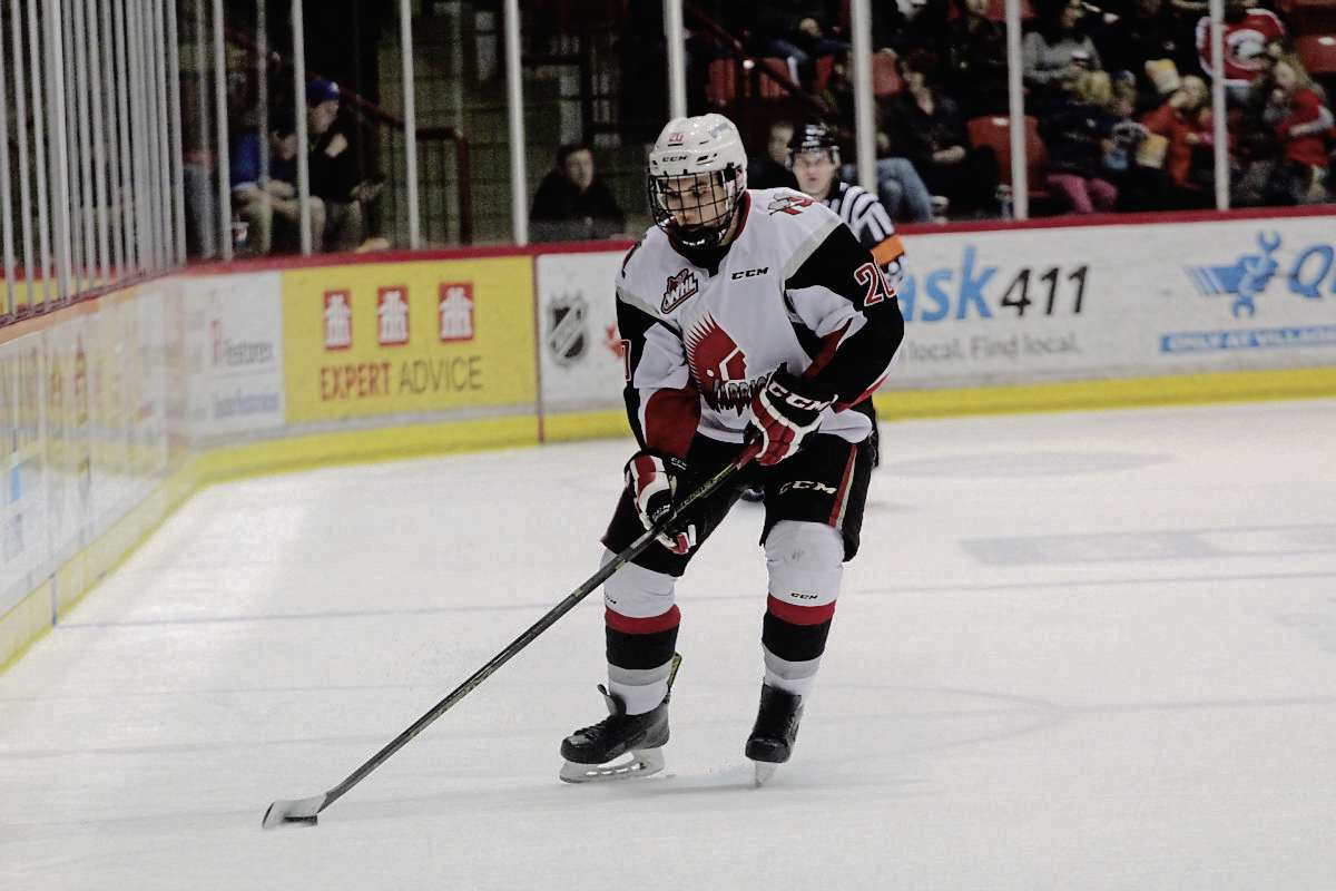 Defenceman Jett Woo has gone from playing bantam hockey with the Winnipeg Wild to the WHL playoffs with the Moose Jaw Warriors.