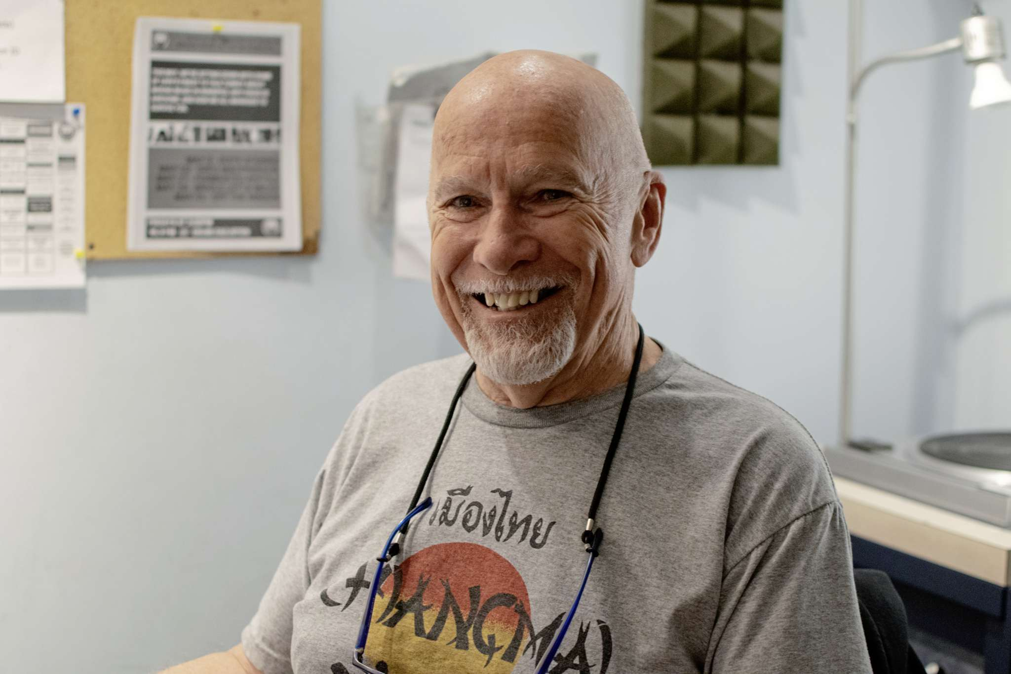 Keith Black has been hosting a weekly three hour jazz show on CKUW for 20 years.