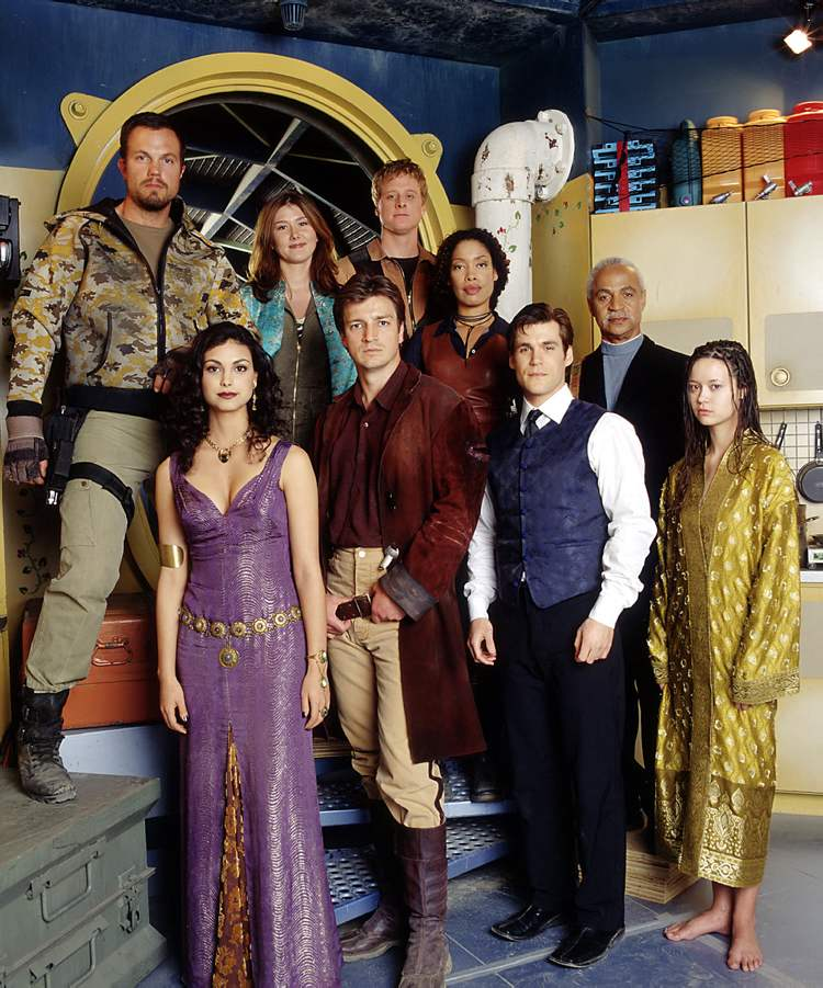 First, a motley crew may actually be a crew -- as seen in Joss Whedon's sci-fi series 'Firefly.' This band of outcasts was given further credibility when their show was cancelled by THE MAN.