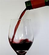 Pouring less wine each time lowers chances of intoxication, researchers suggest.
