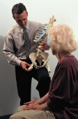 Spinal measurement was tied to whether seniors in study would need help with routine activities.