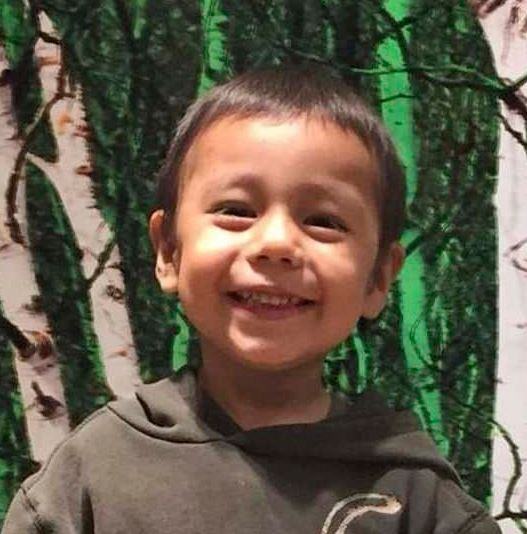 Three-year-old Hunter Haze Straight-Smith was stabbed in the early hours of Oct. 30. (Facebook)