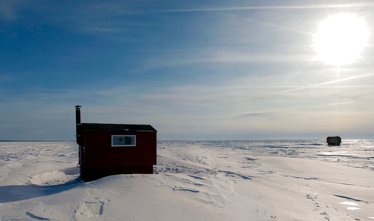 Balsam Bay on Lake Winnipeg. (Boris Minkevich / Winnipeg Free Press)