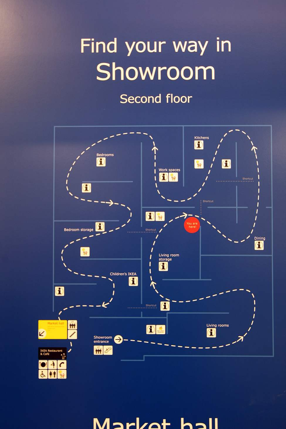 Map of second floor show room. (JOE BRYKSA / WINNIPEG FREE PRESS)