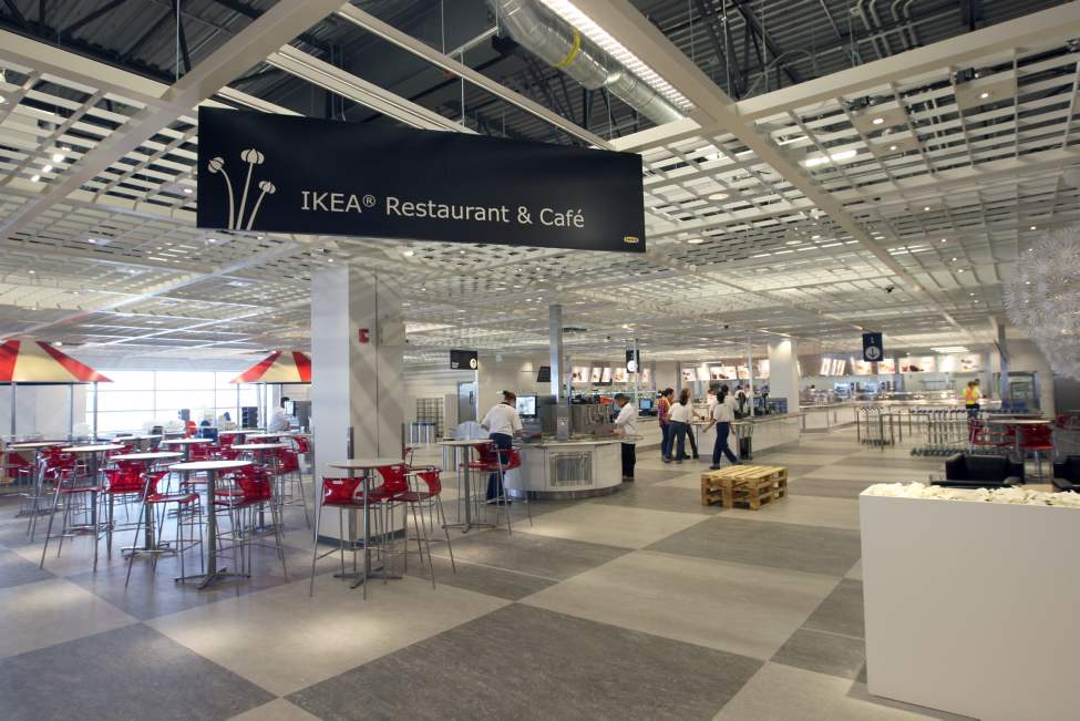 The Ikea Restaurant and Cafe