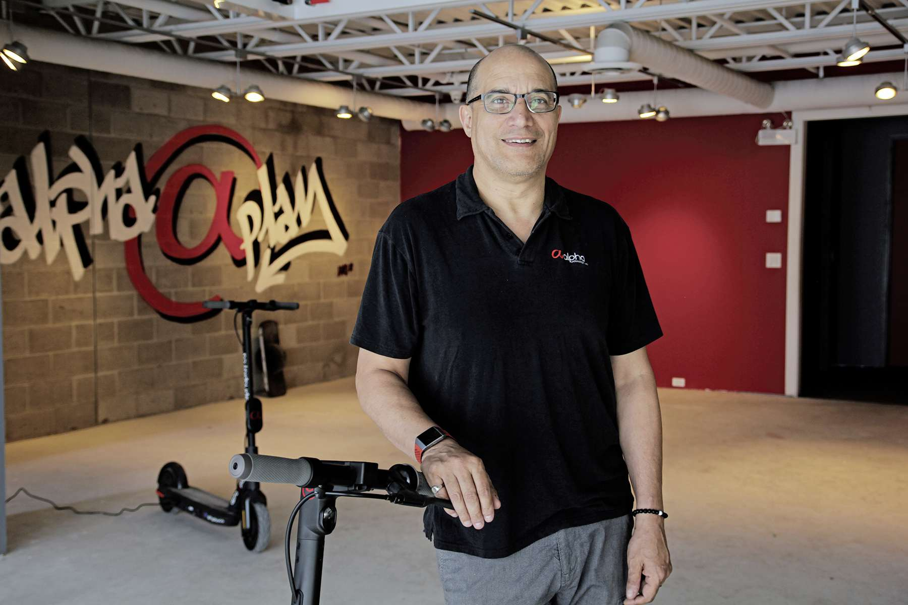 Alan Castell, the owner of Alpha Technologies at 1783 Portage Ave., is launching a storefront called Alpha Play. Customers will be able to shop the showroom and consult with experts on new-to-Manitoba products including 3D printers and accessories, electric scooters and skateboards, and foldable kayaks.