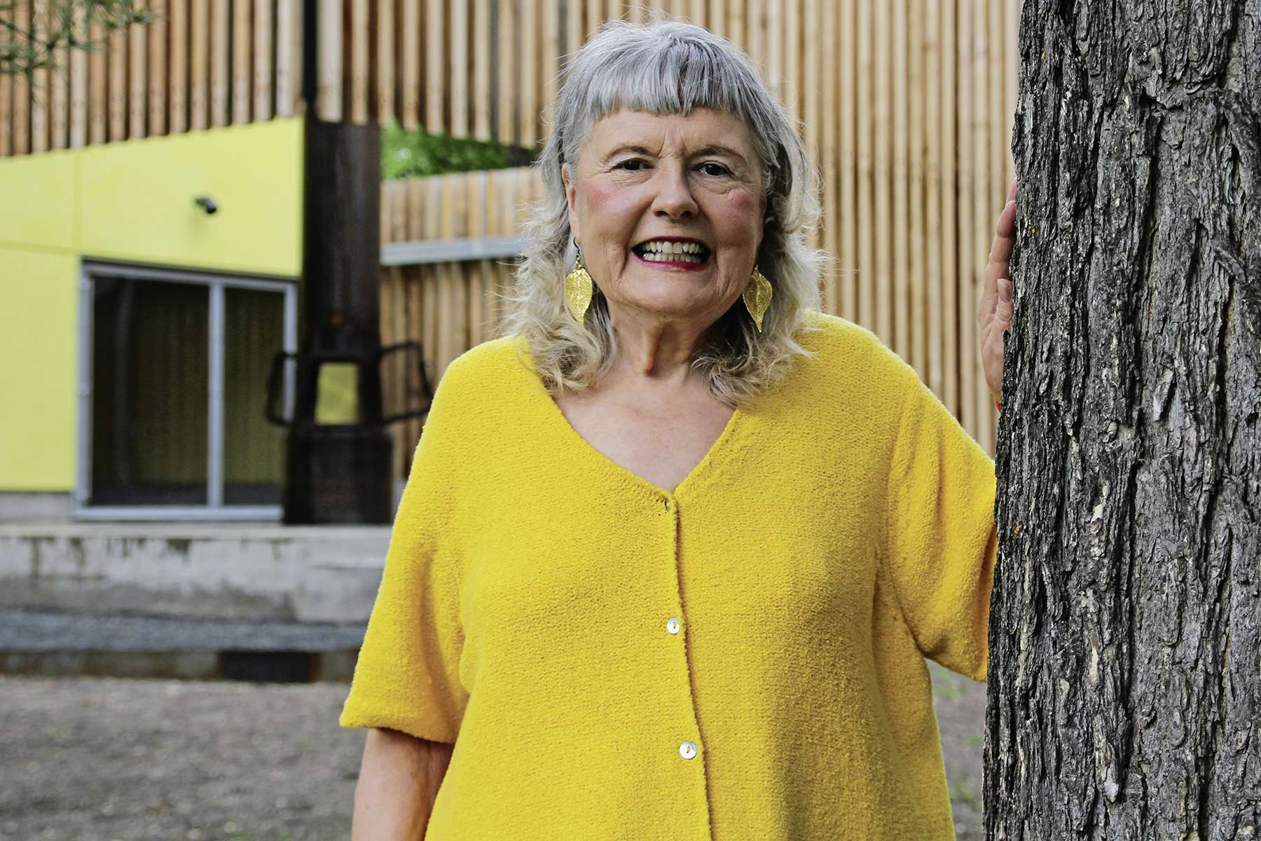 Muriel St. John advocates for parkland through the groups OURS-Winnipeg and Crescent Park Rescue Committee. St. John wants city council to vote no to the possible future development of Winnipeg's green spaces outlined in the OurWinnipeg 2045 Development Plan.