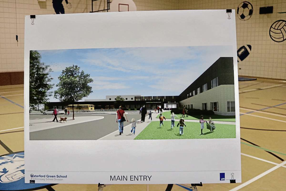 The new school was designed by LM Architectural Group.