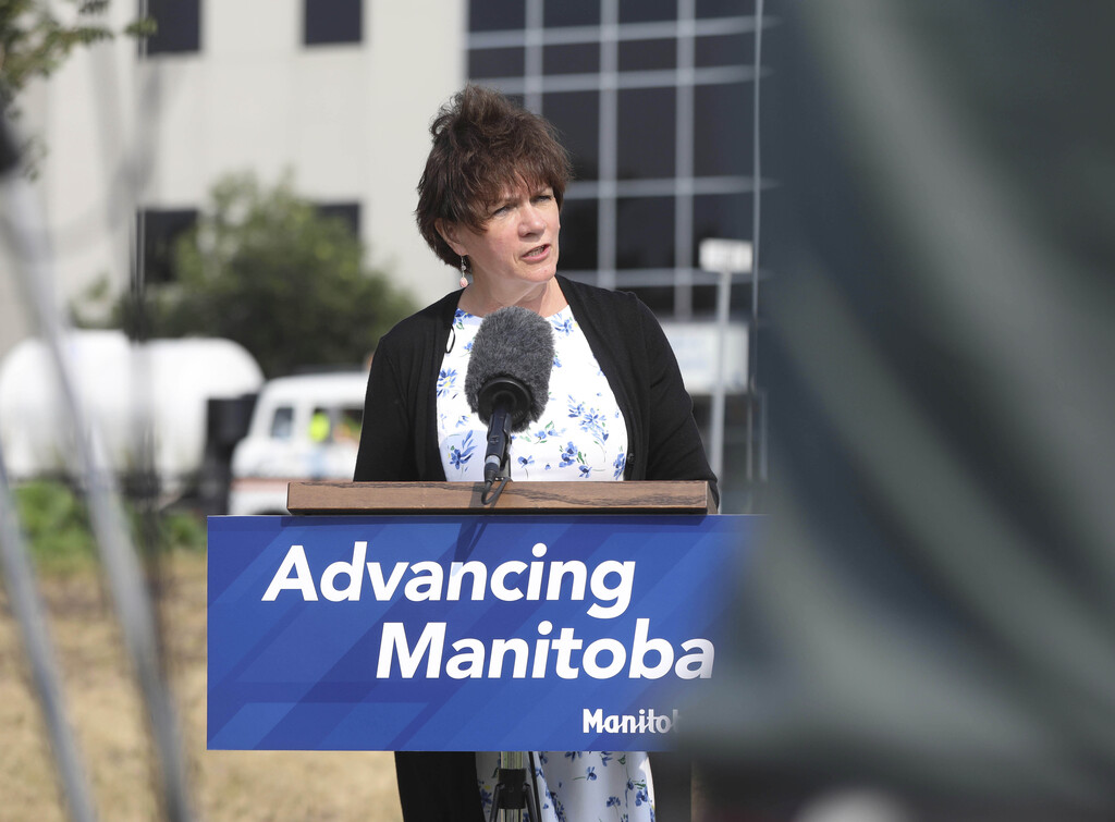 Janice Morley-Lecomte is one of two MLAs that hasn't been vaccinated. (Ruth Bonneville / Winnipeg Free Press files)