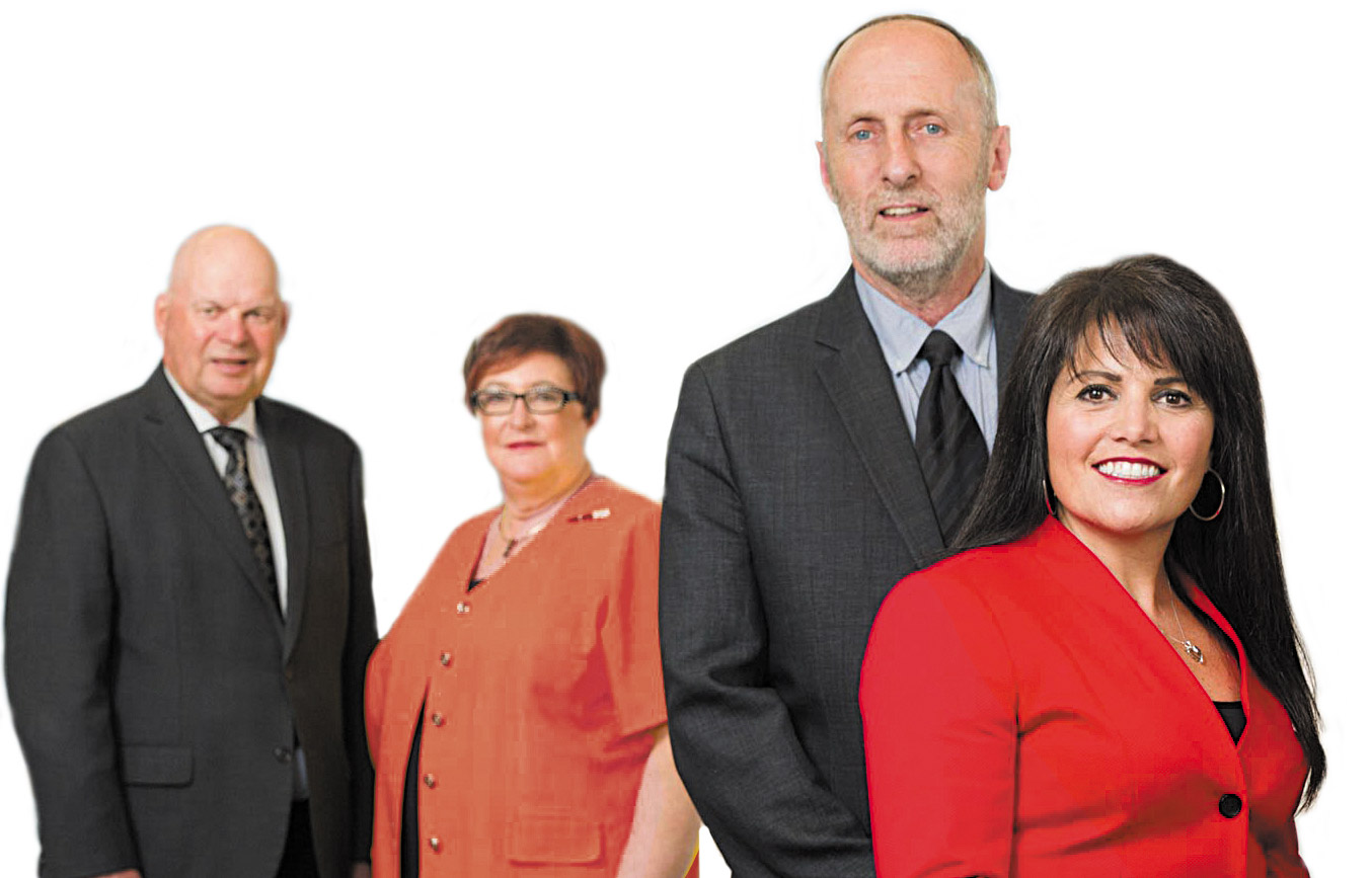 A new brand for Legacy Bowes and partners Paul Croteau, Barbara Bowes, Bill Medd and Lisa Cefali