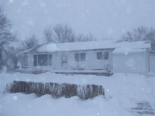 Lori Christensen's house in Hazelridge, MB.