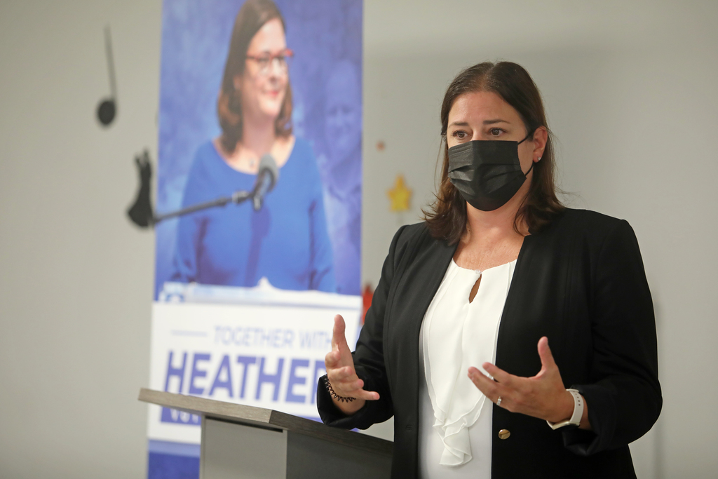 MLA Heather Stefanson is up against former MP Shelly Glover in the race to become leader of the provincial PC Party and premier. (Tim Smith / The Brandon Sun files)