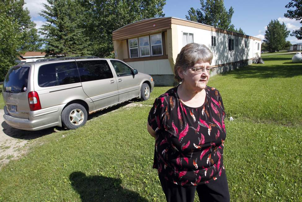 Janet Goodin is a Minnesota grandmother accused of smuggling drugs into Canada. She lives in Warroad, MN. 