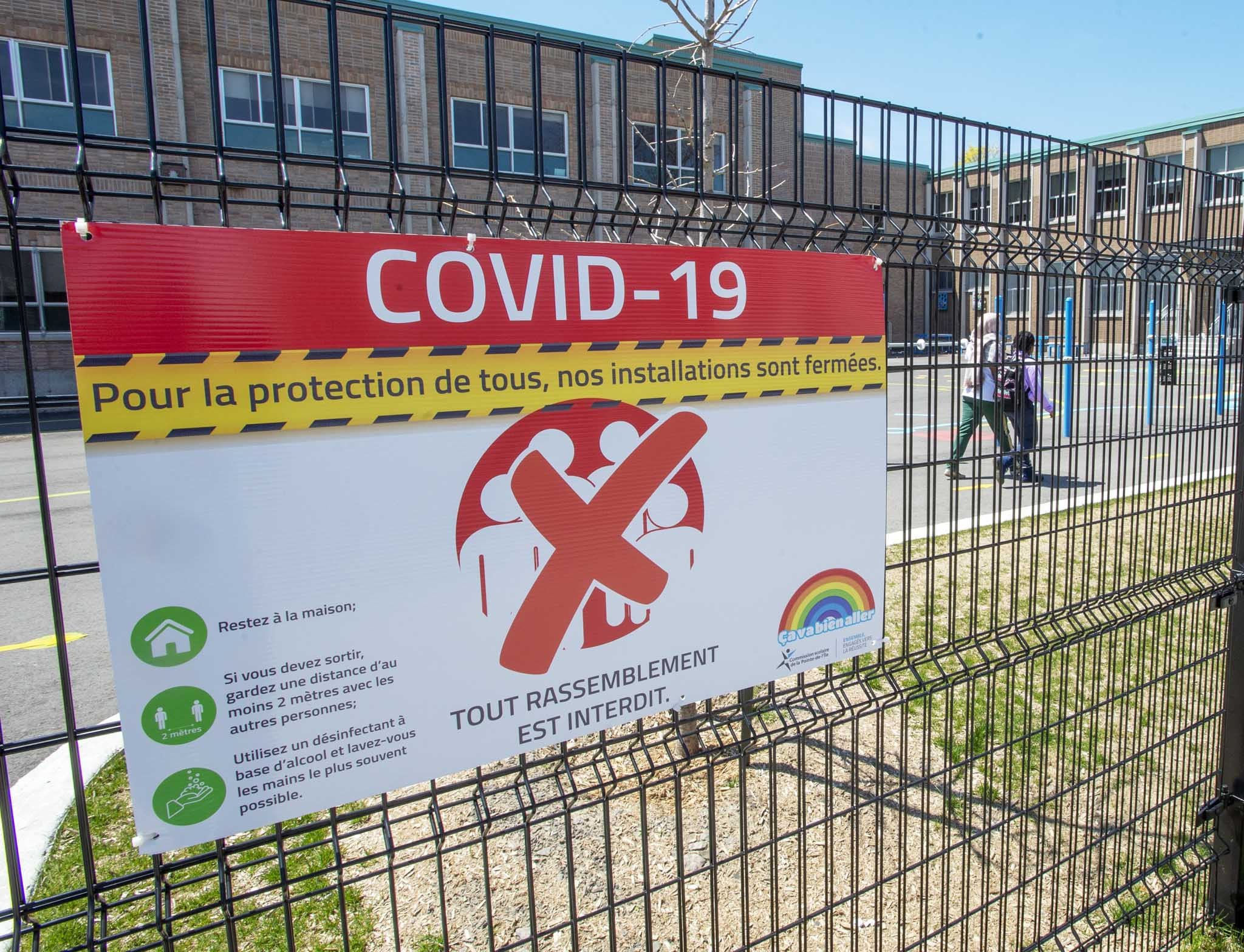 Montreal's education department, which tracked the virus in school communities based on weekly active case counts, said the height of active cases occurred during the last week of May. (Ryan Remiorz / Canadian Press files)