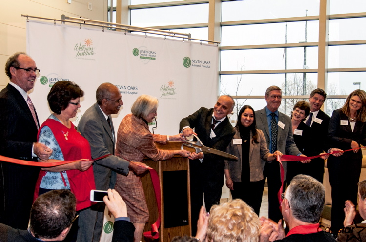 The ribbon was cut Thurs., Oct. 4 on a new $7.8 million project at the Seven Oaks General Hospital.