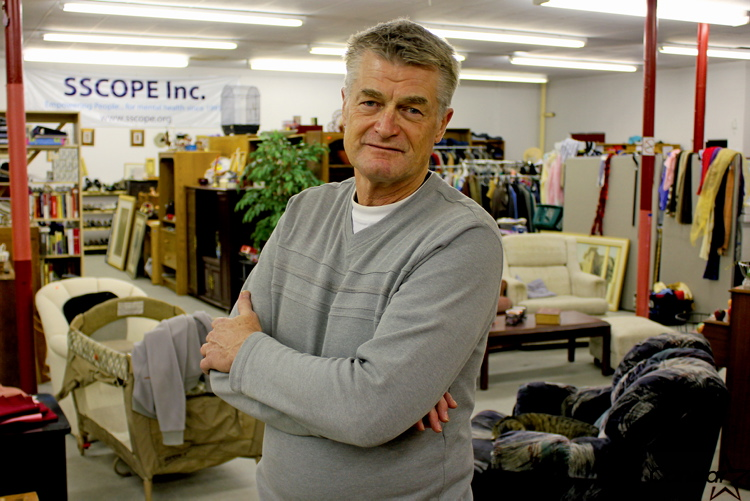 SSCOPE executive director Bob Rempel says the non-profit organization has quickly outgrown its Arlington Street space since moving in in August 2011.