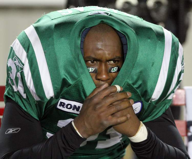 He played in four playoff games and two Grey Cups, but because the Saskatchewan Roughriders can't count, retired linebacker Sean Lucas will forever be known in CFL folklore as the 13th man who broke the hearts of Rider Nation. Lucas was the extra player on the field when Montreal Alouettes kicker missed a 43-yard field goal as time expired, seemingly giving Saskatchewan the win. Nuh-uh. Duval got a second chance and, suffice it to say the 13th Man incident cost the club the 2009 championship. (Leah Hennel / Canwest News Service) (CNS Canwest News Service)