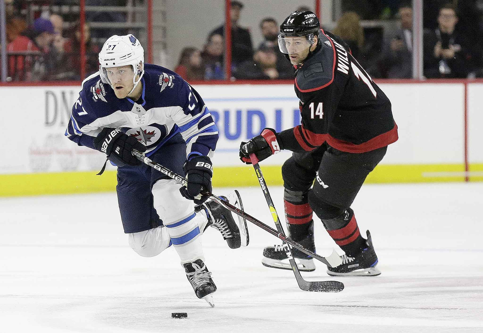 GERRY BROOME / THE ASSOCIATED PRESS FILES</p><p>&#34;I'm going to do my best to get back to where I was. It's got to start now,&#34; said Winnipeg Jet Nikolaj Ehlers.</p>