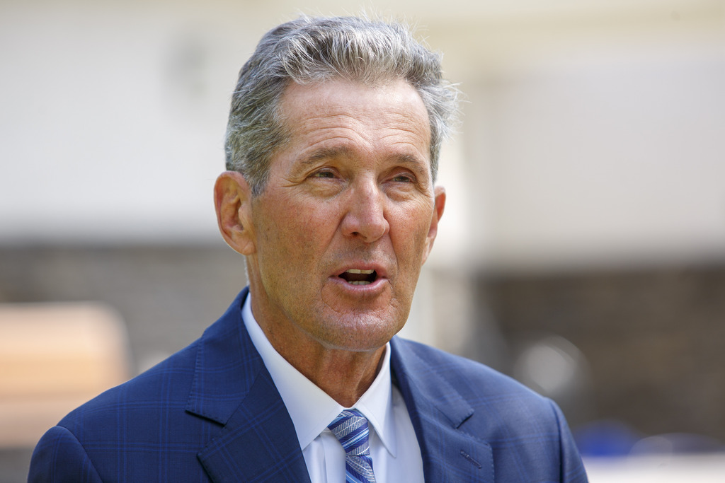 Premier Brian Pallister: 'The people who came here, to this country before it was a country, and since, didn't come here to destroy anything — they came here to build.' (Mike Deal / Winnipeg Free Press files)