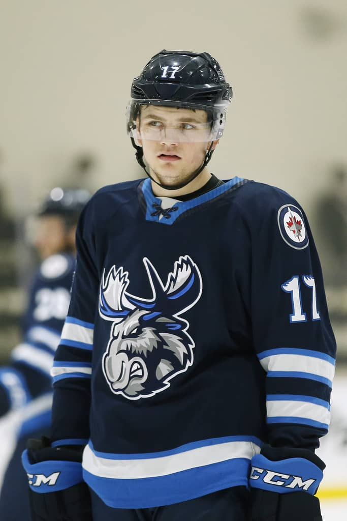 Cole Perfetti was drafted by the WInnipeg Jets 10th overall in 2020.