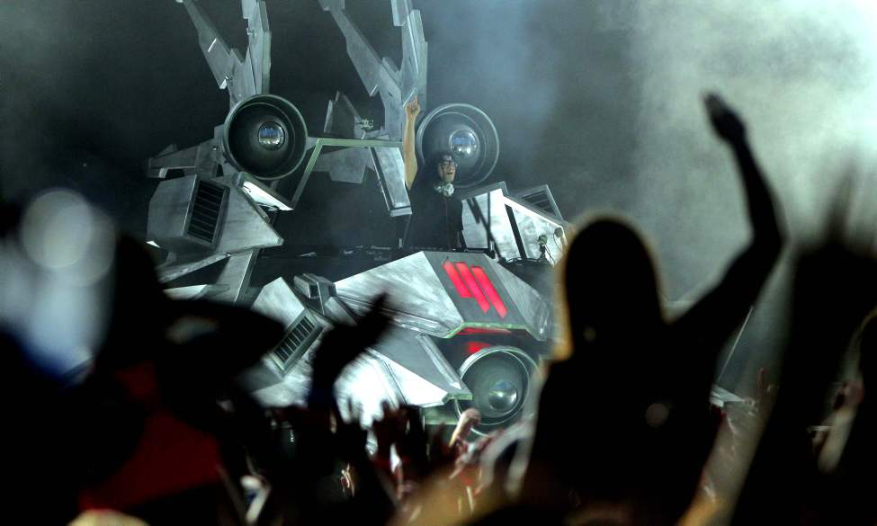 Full Flex Tour featuring Skrillex at the SHAW Park. July 18, 2012  (BORIS MINKEVICH / WINNIPEG FREE PRESS)
