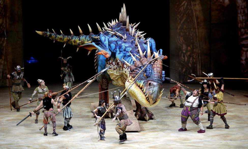 How To Train Your Dragon Live Spectacular at the MTS Centre. November 22, 2012  (BORIS MINKEVICH / WINNIPEG FREE PRESS)