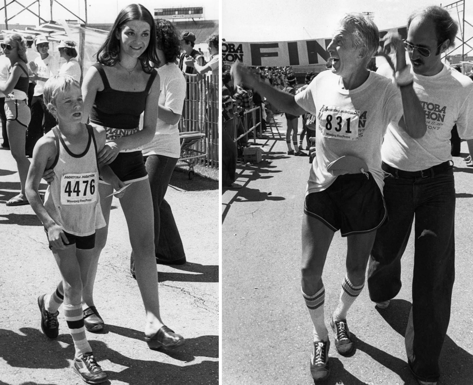 A marathon for all ages. (Ken Gigliotti/Winnipeg Free Press )