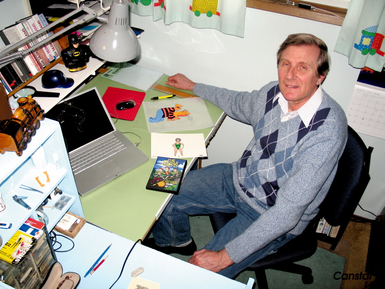 Animator Paul Ullrich recently won an award for his short animated cartoon The Bicycle Lesson.