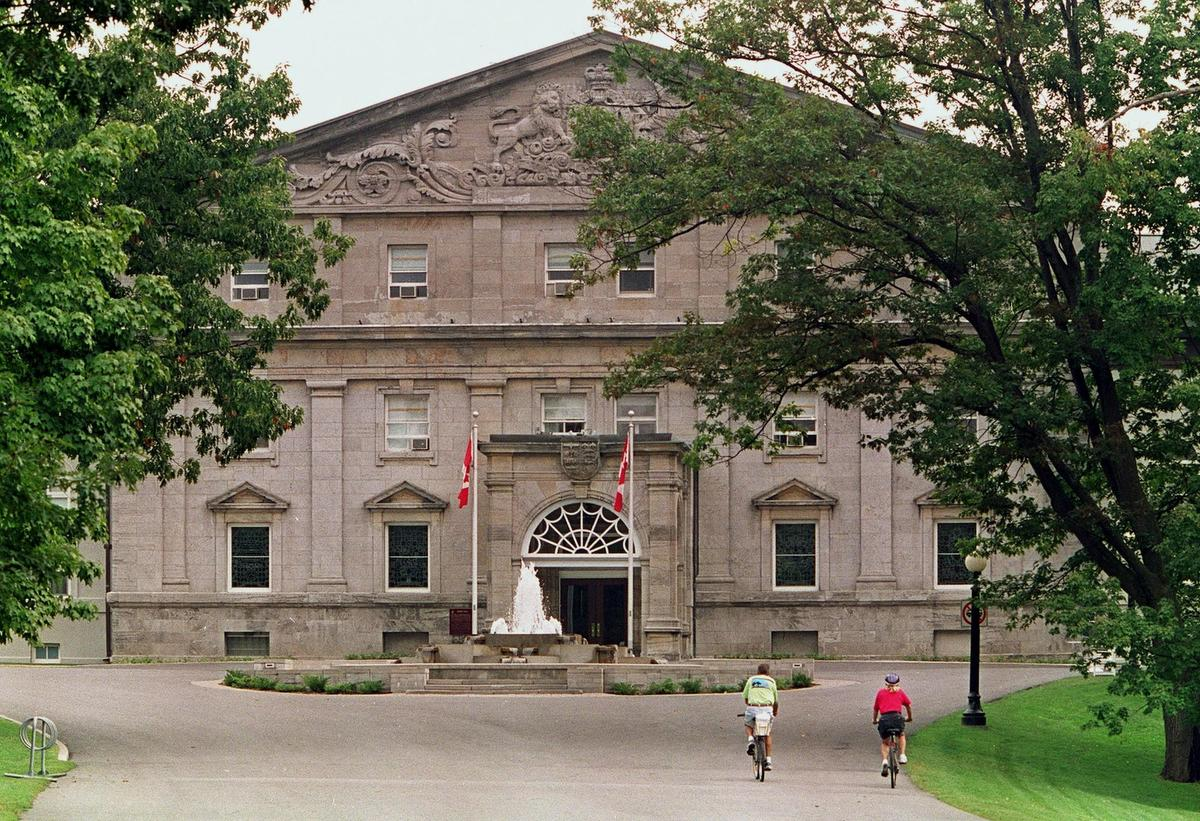 Rideau Hall in Ottawa is the official residence of Canada's governor general.