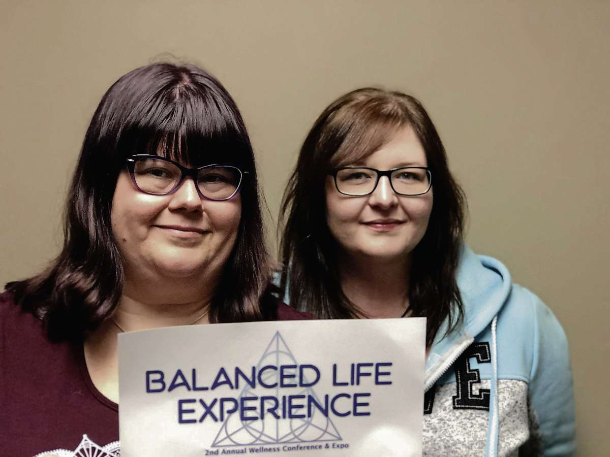 Bernadette Feakes (left) and Sheri Boyce are the organizers of the Balanced Life Experience wellness conference, which is to be held on Sat., Oct. 5 at Assiniboia Downs. The pair from Elmwood/East Kildonan met on a community Facebook group six years ago.