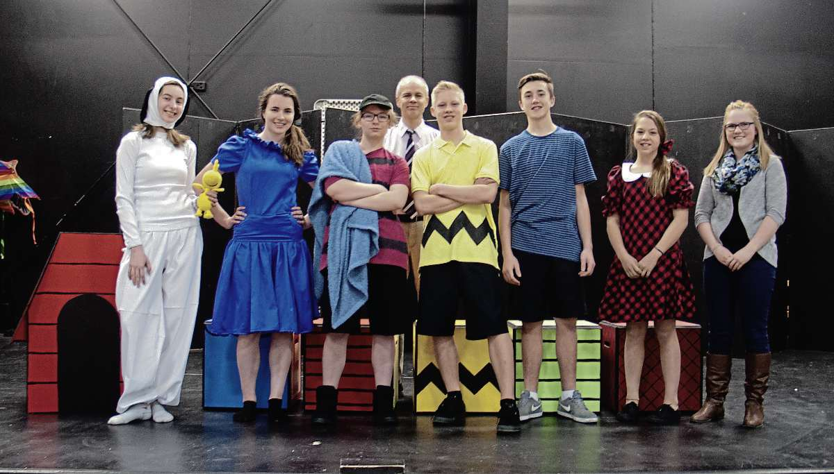 "The cast of Immanuel Christian School's production of ""You're a Good Man, Charlie Brown"". (SHELDON BIRNIE/CANSTAR/THE HERALD)"