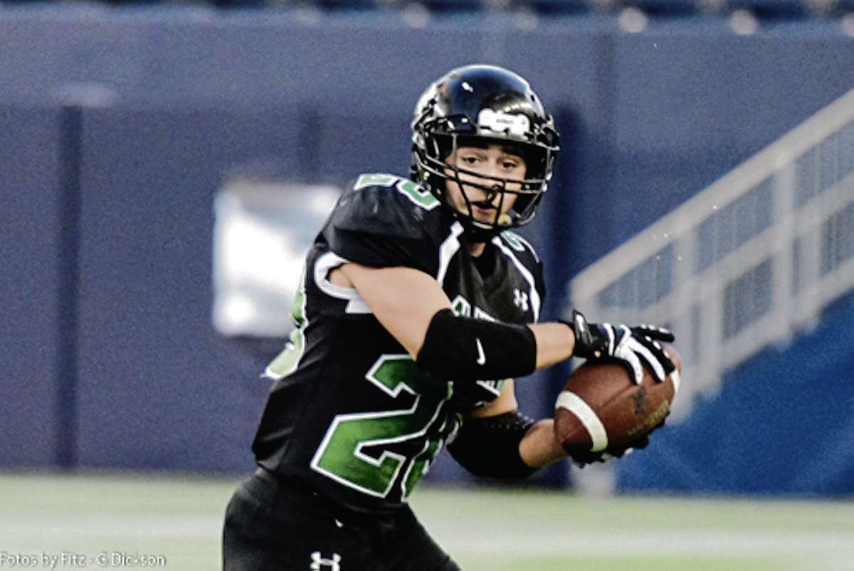 Brandon Urciuoli, seen here playing with the Murdoch MacKay Clansmen, will suit up for the Winnipeg Rifles this season.