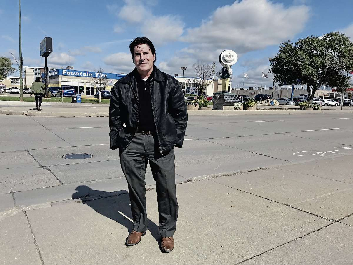 Ray Ulasy is running for city council in Transcona in the Oct. 24 civic election. (SHELDON BIRNIE/CANSTAR/THE HERALD)