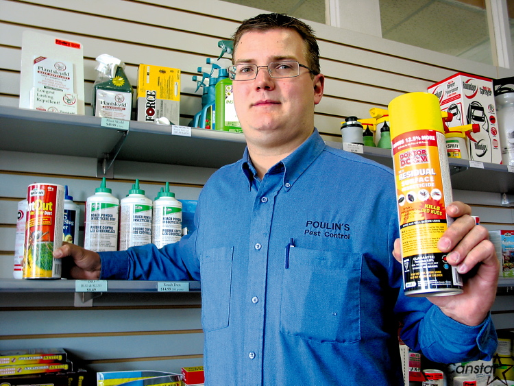 Lincoln Poulin urges caution when dealing with mice.
