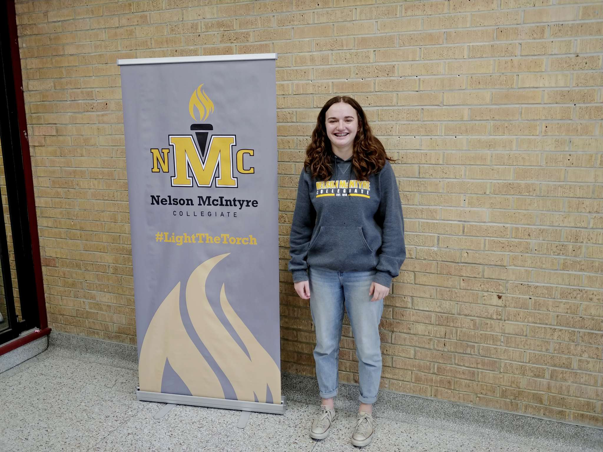 Manhattan Leslie-Toogood, a Grade 12 Nelson McIntyre Collegiate student, has been chosen to receive an $80,000 Schulich Leader Scholarship. This fall, the 18-year-old will attend Dalhousie University, where she will study sciences.