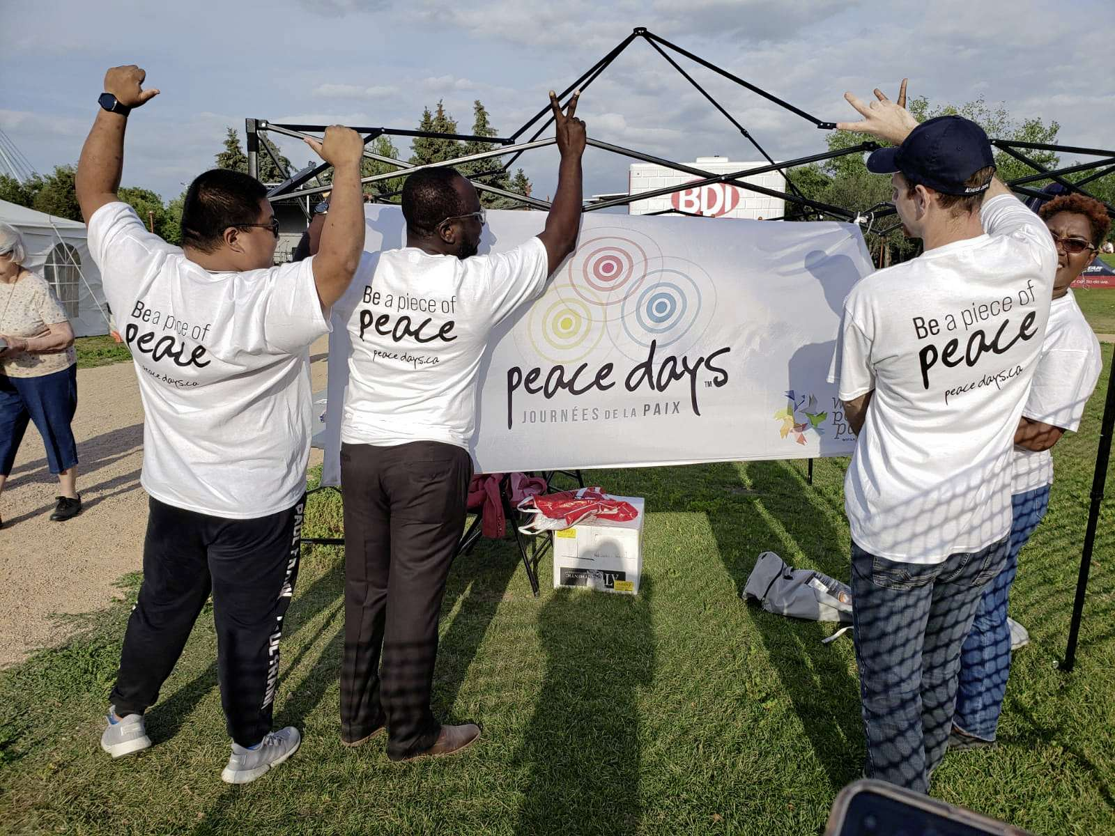 A photo from last year's Peace Days Winnipeg event. While many of this year's events are being online and or virtually through Zoom in light of COVID-19, community members still have plenty of opportunities to become involved and engaged.
