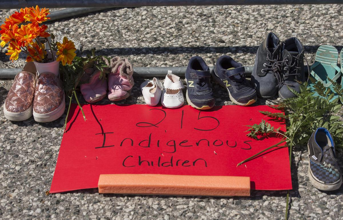 Several Ontario cities including Toronto, Mississauga and Brampton are lowering their flags to honour the children whose remains were discovered in a mass grave at what used to be one of the country's biggest residential schools, Kamloops Indian Residential School.