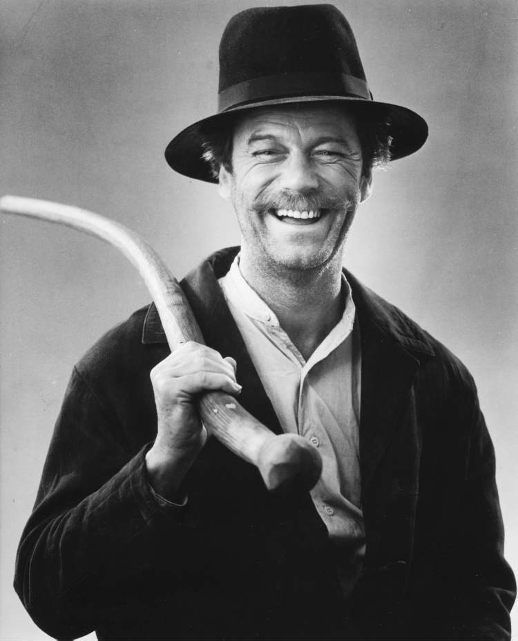 Gordon Pinsent as Edgar Sturgess in A Gift to Last. 1978. (CBC Photo Service)