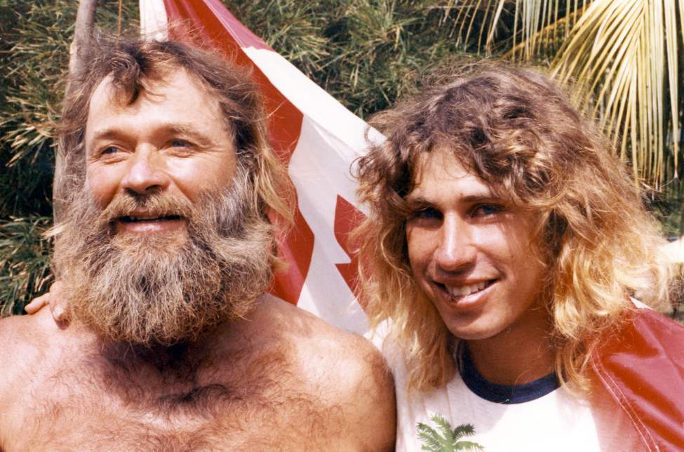 Don and Dana Starkell on their trip to South America