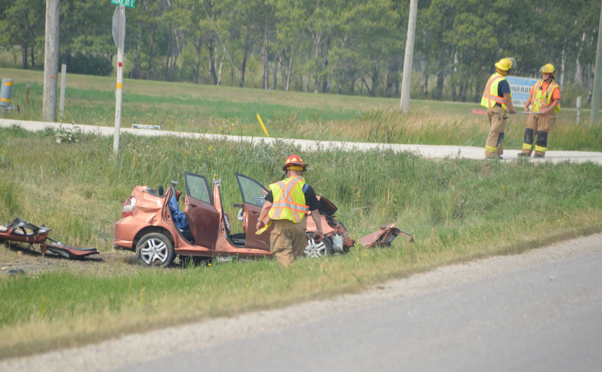 Two hospitalized after Highway 52 crash - The Carillon