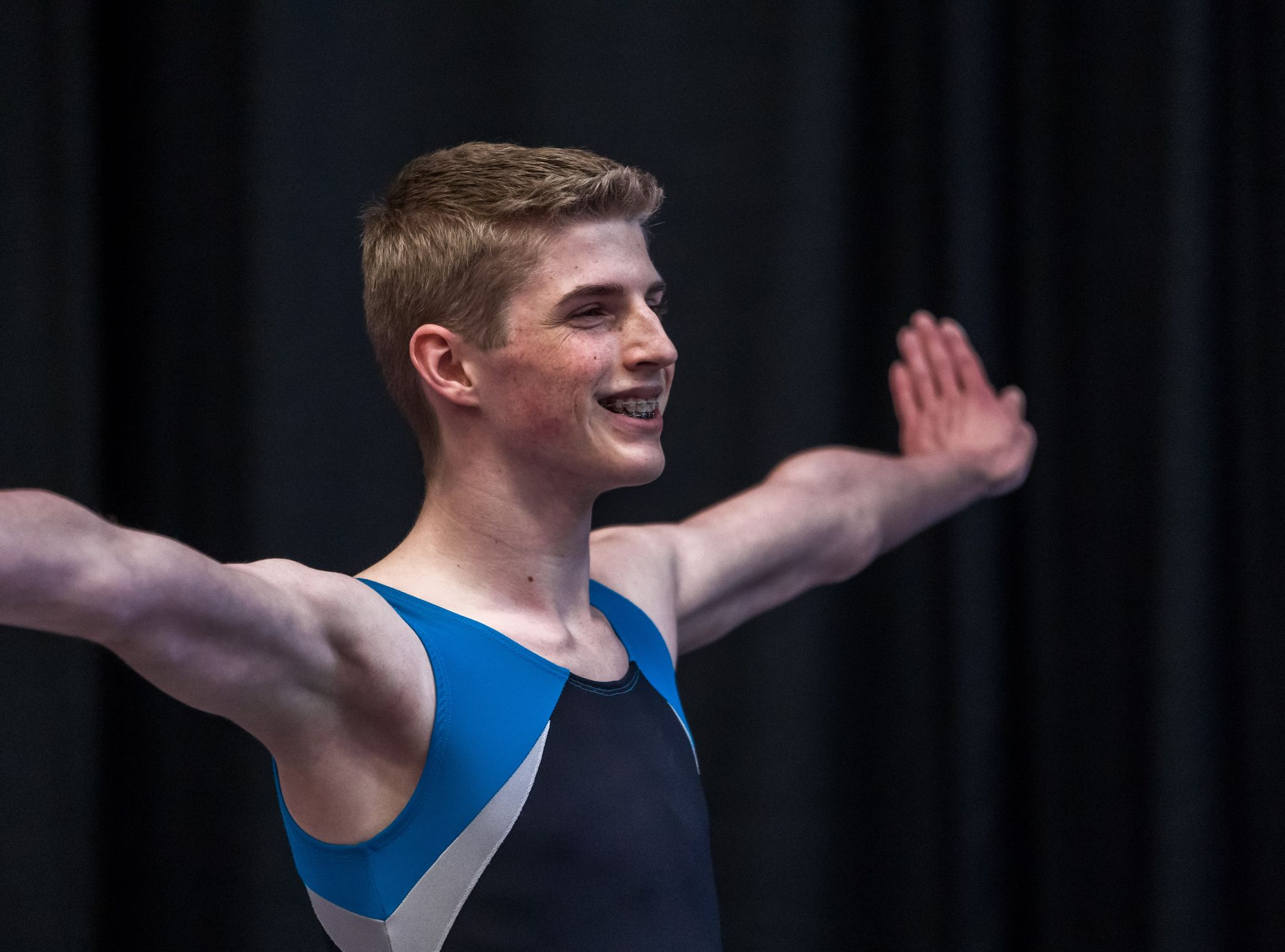 Niverville's Isaiah Klassen is a strong candidate to represent Canada at the upcoming World Trampoline and Tumbling Championships in Japan.