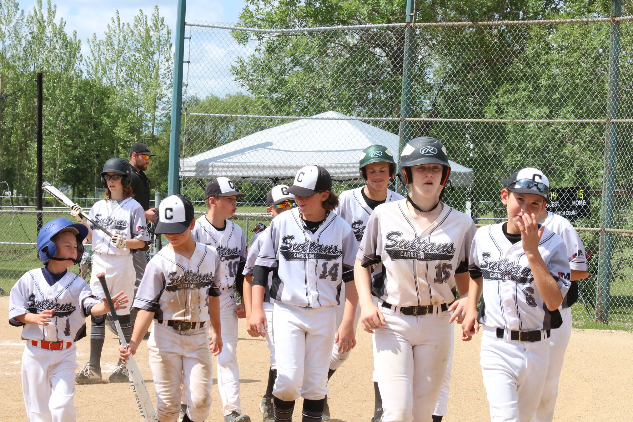 The Carillon Sultans finished third out of eight teams at the 13U 'AAA' provincial qualifier this weekend at Ile des Chenes to advance to the provincial championships, Aug. 2-4 in Winnipeg.