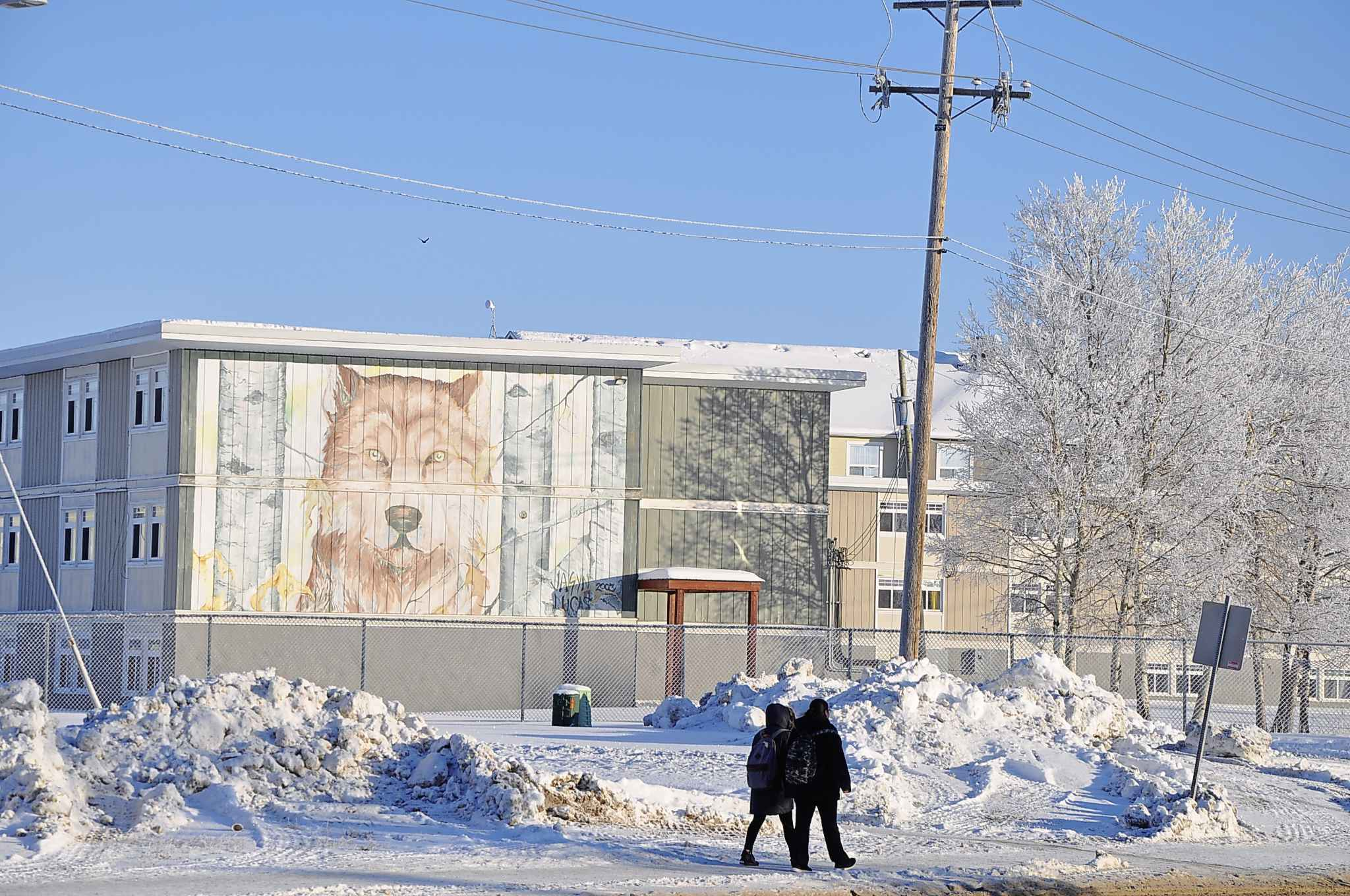 Thompson is the hub of northen Manitoba, but despite its size, it has no provincial jail. (Katie May / Winnipeg Free Press)