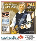 Fall Arts Guide - Sept 2014