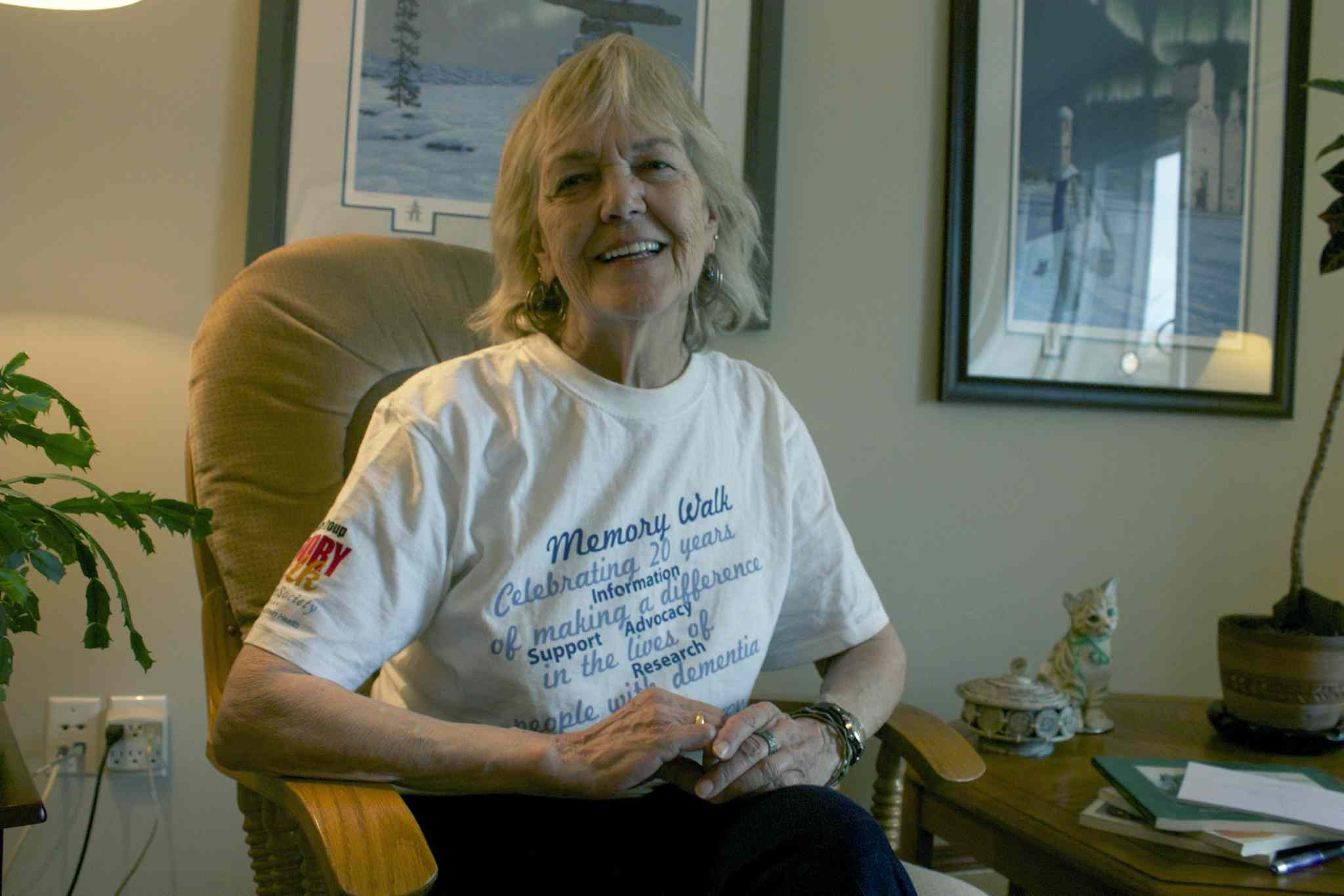Tanis Rummery will be participating in her fourth Alzheimer Society of Manitoba Memory Walk on June 12.