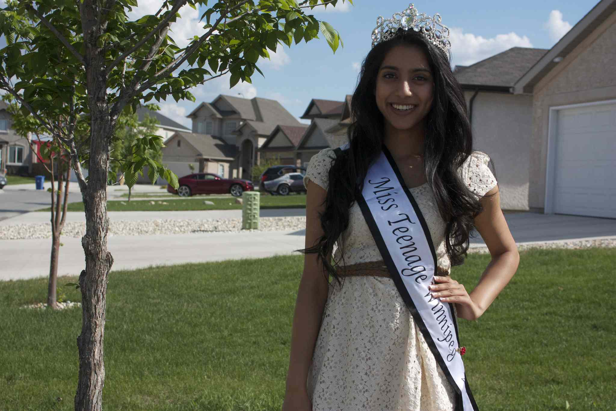 Miss Teenage Winnipeg 2014 winner Tanya Sagar will compete on the national stage in Toronto next month.